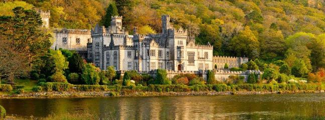 Kylemore Abbey - five minute drive