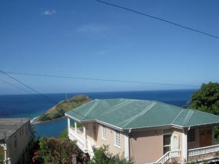 View of the Caribbean Sea and Atlantic Ocean from Veranda