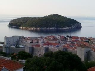 Gorgeous view from Lukrecija apartment, Dubrovnik