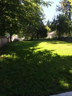 Backyard with BBQUE