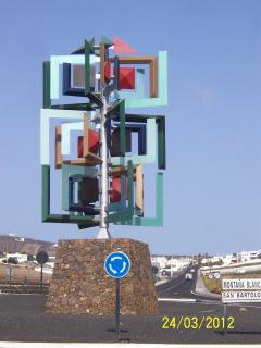 Manrique Roundabout Sculptures.