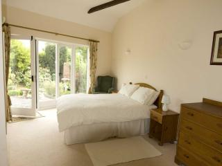 Spacious master bedroom with own outside seating