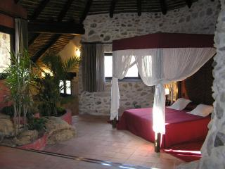 Rustic villa + adjacent cottage (sleeps 8), private pool, great views