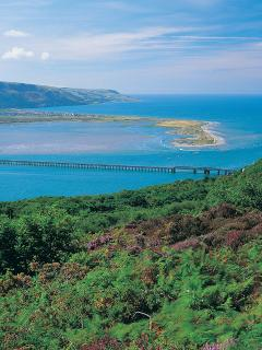 Mawddach estury only 4 miles away
