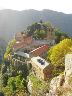 Abbey de St Martin Canigou (5 mins away) steep walk up but well worth the effort!