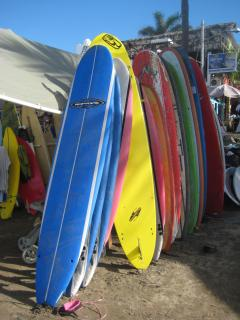 Surfboards in Sayulita