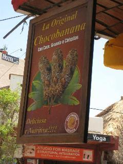 Famous Choco Banana in Sayulita