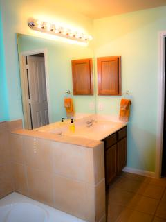Master bathroom (double vanity)