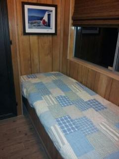 1/2 Bedroom with a Twin Bed