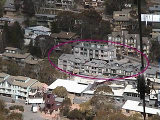 Squatters Run location centre in village
