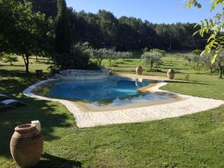 maison lumineuse 3chambres jardin 15 000m2 piscine, Ventabren