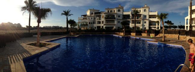 Poolside view