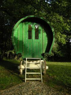 La roulotte Irlandaise, chambre