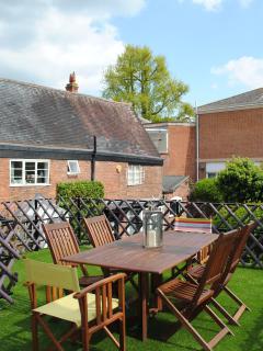 Roof garden of Crescent Cottage