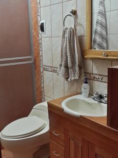 Baño principal. Main bathroom.