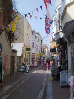 'Flag Street'  -  St Alban Street