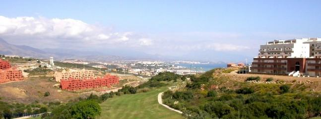 Sea views all round from the Golf Course