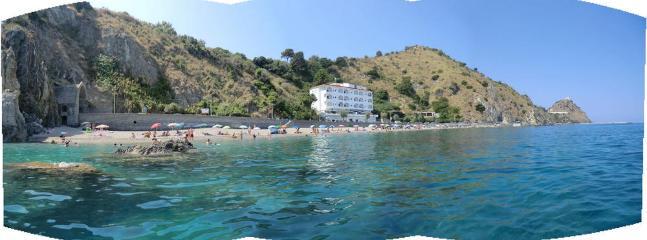 Tratto della spiaggia di San Gregorio