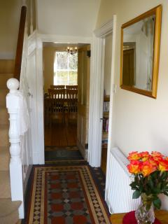 Original Victorian Tiled Entrance Hall