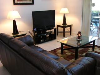 Family room with 50' TV