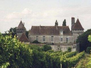 The Château at Gageac - a short walk away