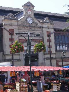 Buy local produce at Flers market on Wednesdays and Saturdays