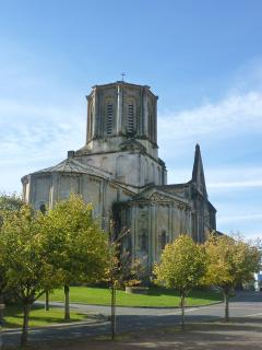 Vouvant's much visited church