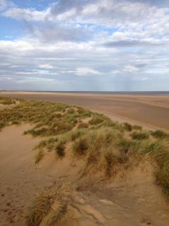 Stunning Holkham beach, only 40 minutes away