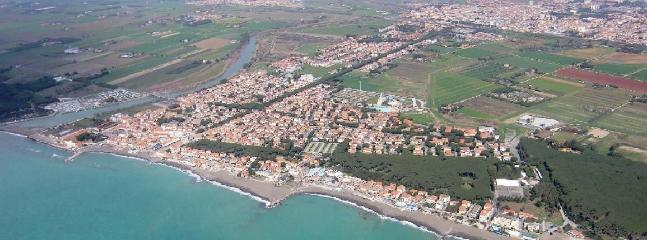 Cecina - aerial view