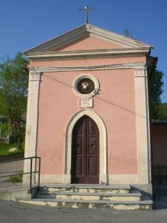 The tiny church of Sant'Antonio, built in 1897, is two minutes walk.