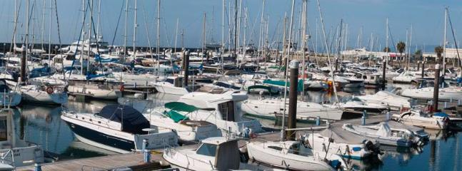 The Cascais Marina is 10 mins walk from the apartment