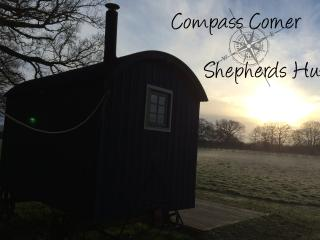 Beautiful sunrises from Compass Corner Shepherds Hut