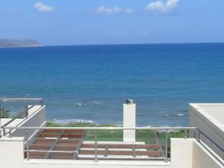 kalyves  beachfront property, direct access to the beach, sea, sun and sand!!!