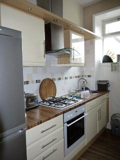 Kitchen - small but beautifully formed!