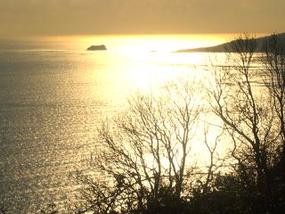 Sunset over Babbacombe Bay