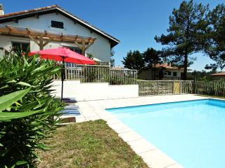 Pool - fenced in area with security gate.