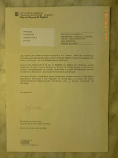 Oficial permit for vacational lettings