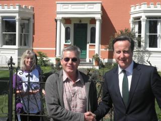 Prime Minister visits Model Farm