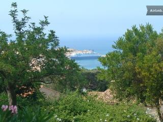 Tres joli T2 avec vue mer sur les iles rousses .
