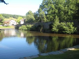 stunning 13th century bridge & river close to property