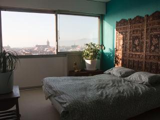 Chambre 1, avec vue