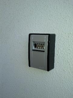 Key safe box, you can check in - out at any time