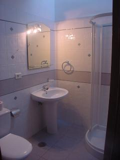 1 of the 2 bathrooms