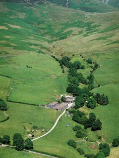 Nestled at the foot of the Howgill Fells