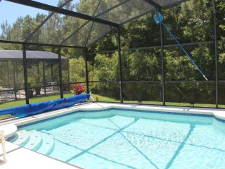 30'x15' Pool overlooking conservation area