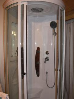 Douche à jets