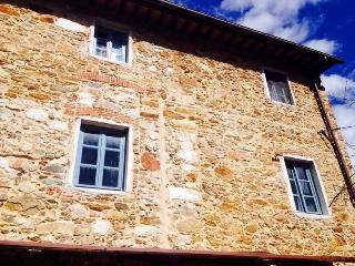 Villa Checco among the hills and olive trees nearest to Lucca, Tuscany