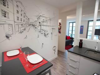 La fresque de Christophe dans la cuisine : on adore !!!