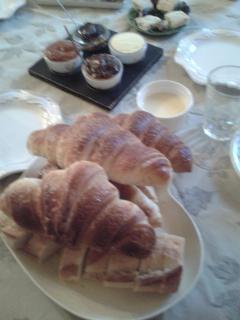 petit déjeuner tout maison sauf croissants