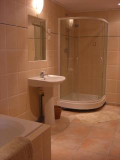 View of the ground floor bathroom